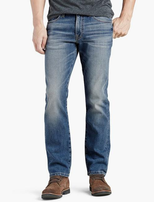 221 STRAIGHT JEAN, WALNUT