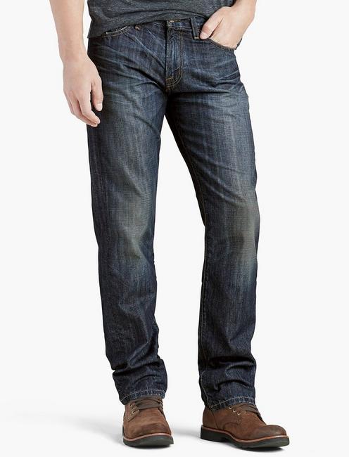Lucky Brand 221 Original Denim Coupe Droite Coton Stretch Neuf avec étiquettes coupe droite