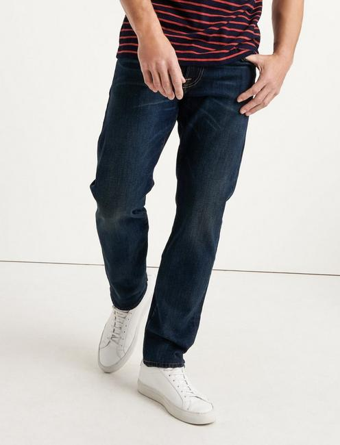 121 SLIM STRAIGHT JEAN, MANTECA