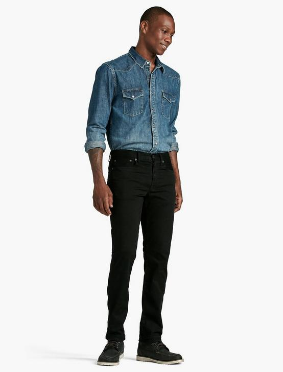 121 SLIM JEAN, BLACK COAL, productTileDesktop