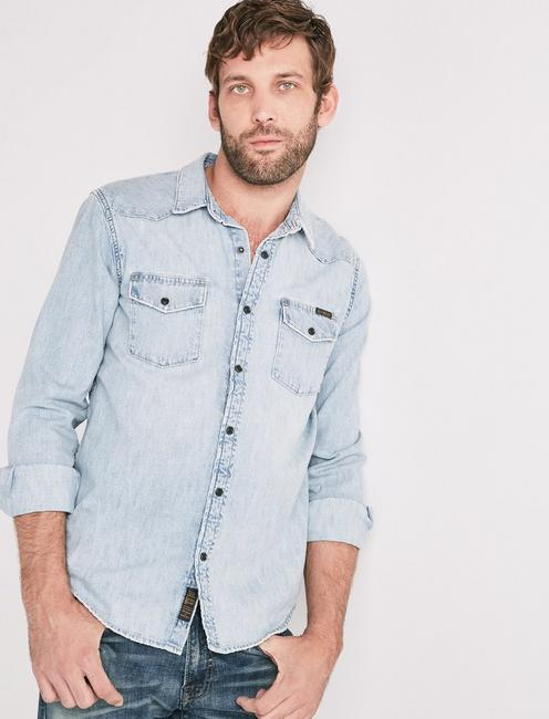 558a1a2247 Denim Western Shirt