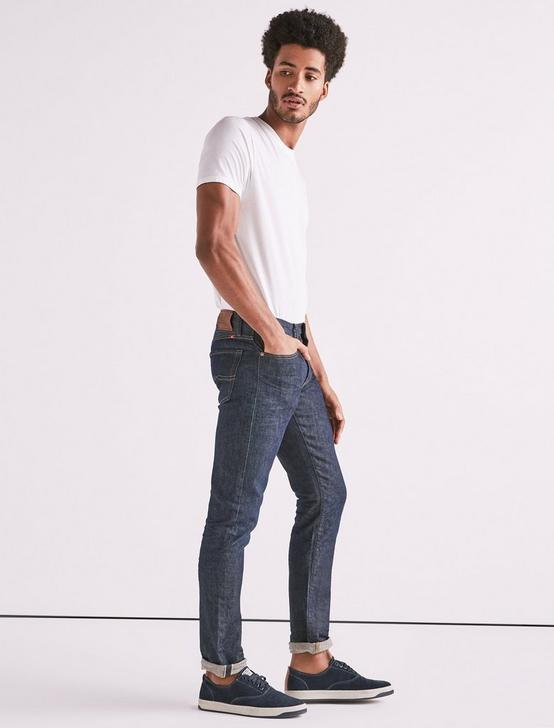 110 SKINNY STRETCH SELVEDGE JEAN, CORTLAND, productTileDesktop