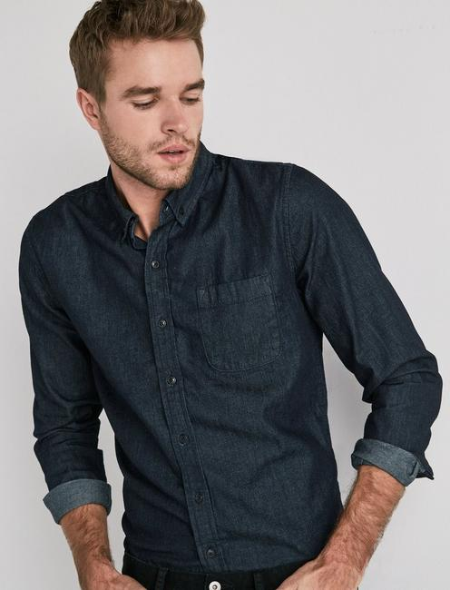 Lucky Tailored Denim Shirt