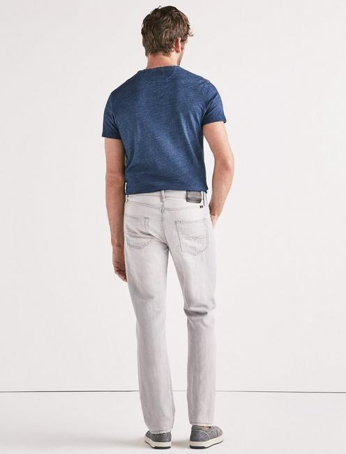410 ATHLETIC SLIM LINEN JEAN, FALCON