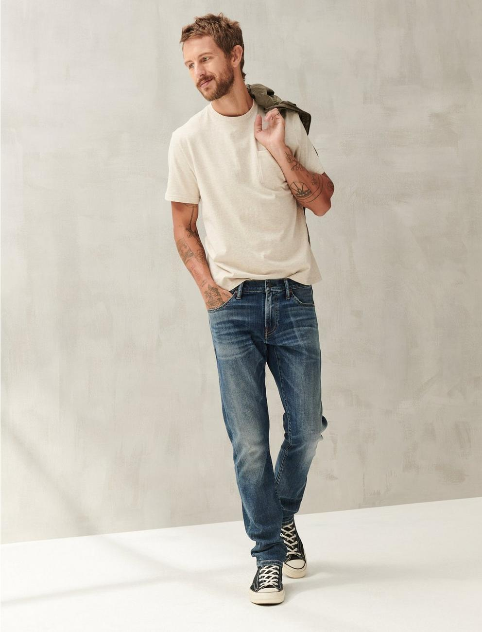 110 SLIM COOLMAX ALL SEASON TECHNOLOGY JEAN,
