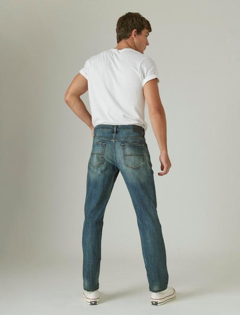 121 SLIM STRAIGHT COOLMAX ALL SEASON TECHNOLOGY JEAN, GREENVALE