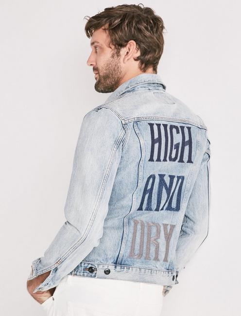 HIGH AND DRY DENIM TRUCKER JACKET, ROSWELL