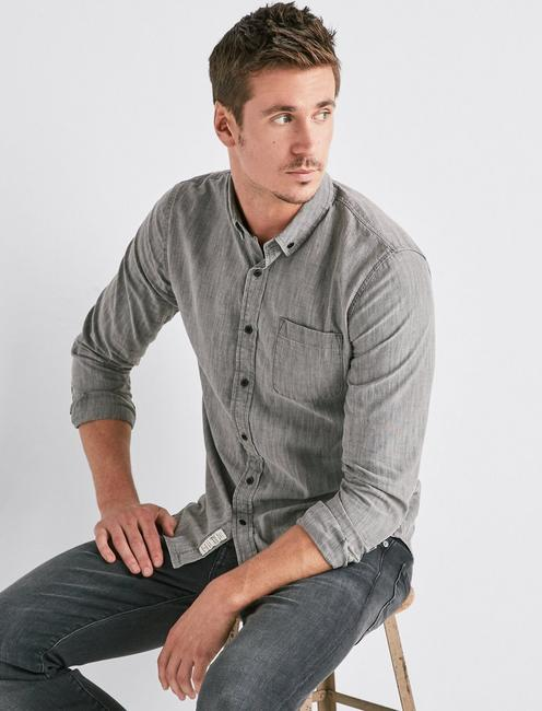 Lucky One Pocket Tailored Shirt