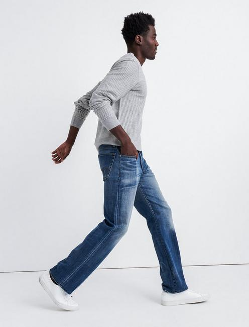 181 RELAXED STRAIGHT COOLMAX STRETCH JEAN, SADDLEBROOKE