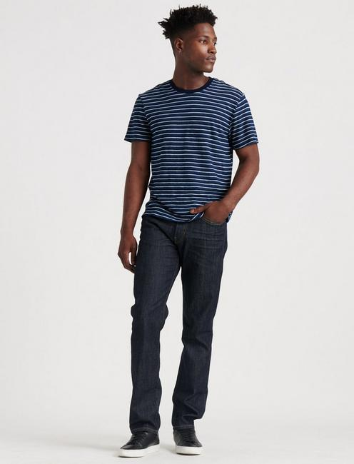 121 SLIM STRAIGHT JEAN, DARK RINSE