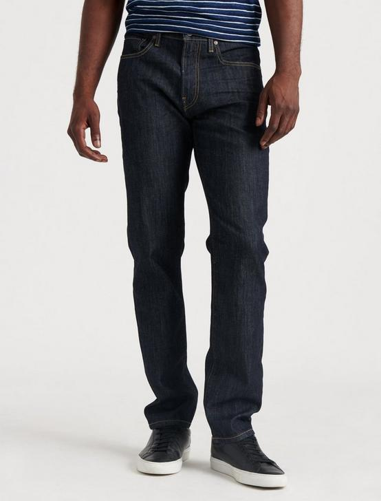 121 SLIM STRAIGHT JEAN, DARK RINSE, productTileDesktop