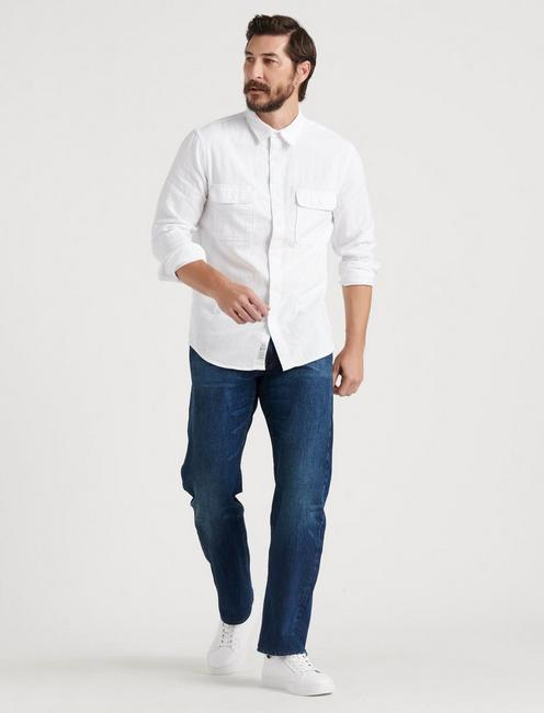 181 Relaxed Straight Vertical Stretch Jean