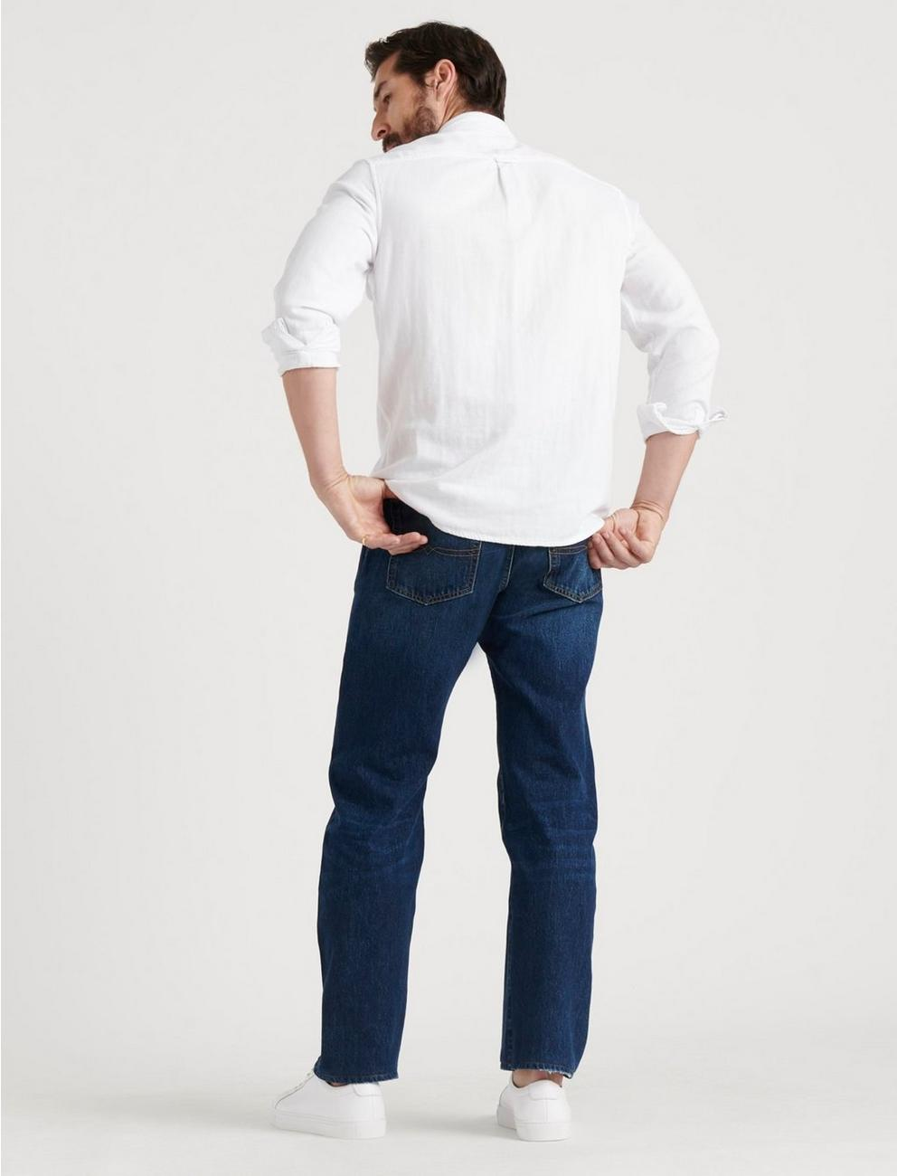 181 RELAXED STRAIGHT VERTICAL STRETCH JEAN, WALDON WOODS