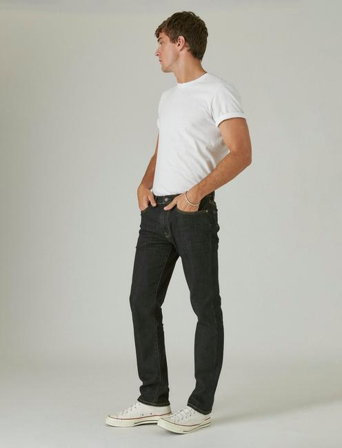 121 SLIM STRAIGHT COOLMAX STRETCH JEAN, HULA