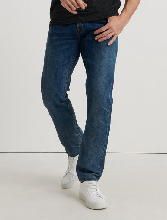 121 SLIM STRAIGHT TENCEL JEAN, DESERT SUN, productTileDesktop