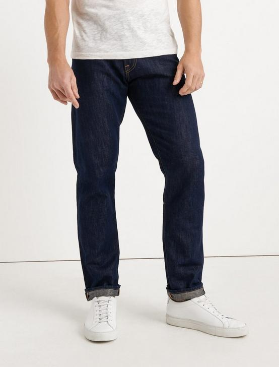 410 ATHLETIC SLIM SELVEDGE JEAN, RINSE, productTileDesktop