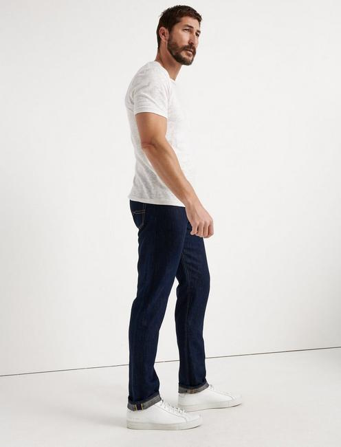 410 ATHLETIC FIT JEAN, RINSE