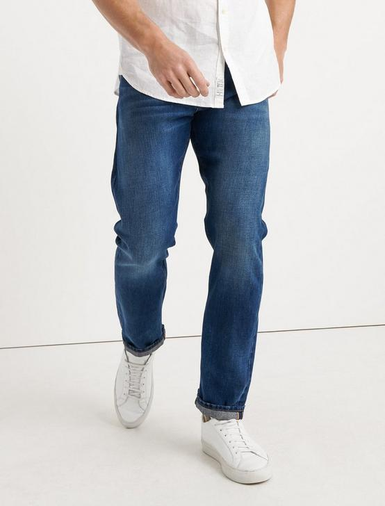 410 ATHLETIC FIT JEAN, ONE WASH, productTileDesktop