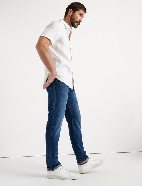 410 ATHLETIC FIT JEAN, ONE WASH