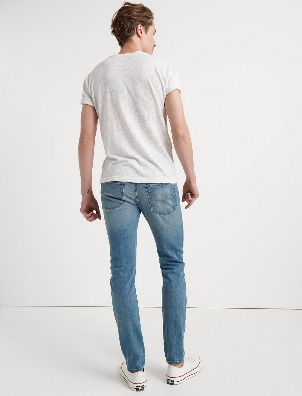105 SLIM TAPER COOLMAX JEAN, RED MOUNTAIN