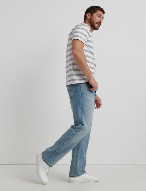 181 RELAXED STRAIGHT TENCEL JEAN, LEADBETTER