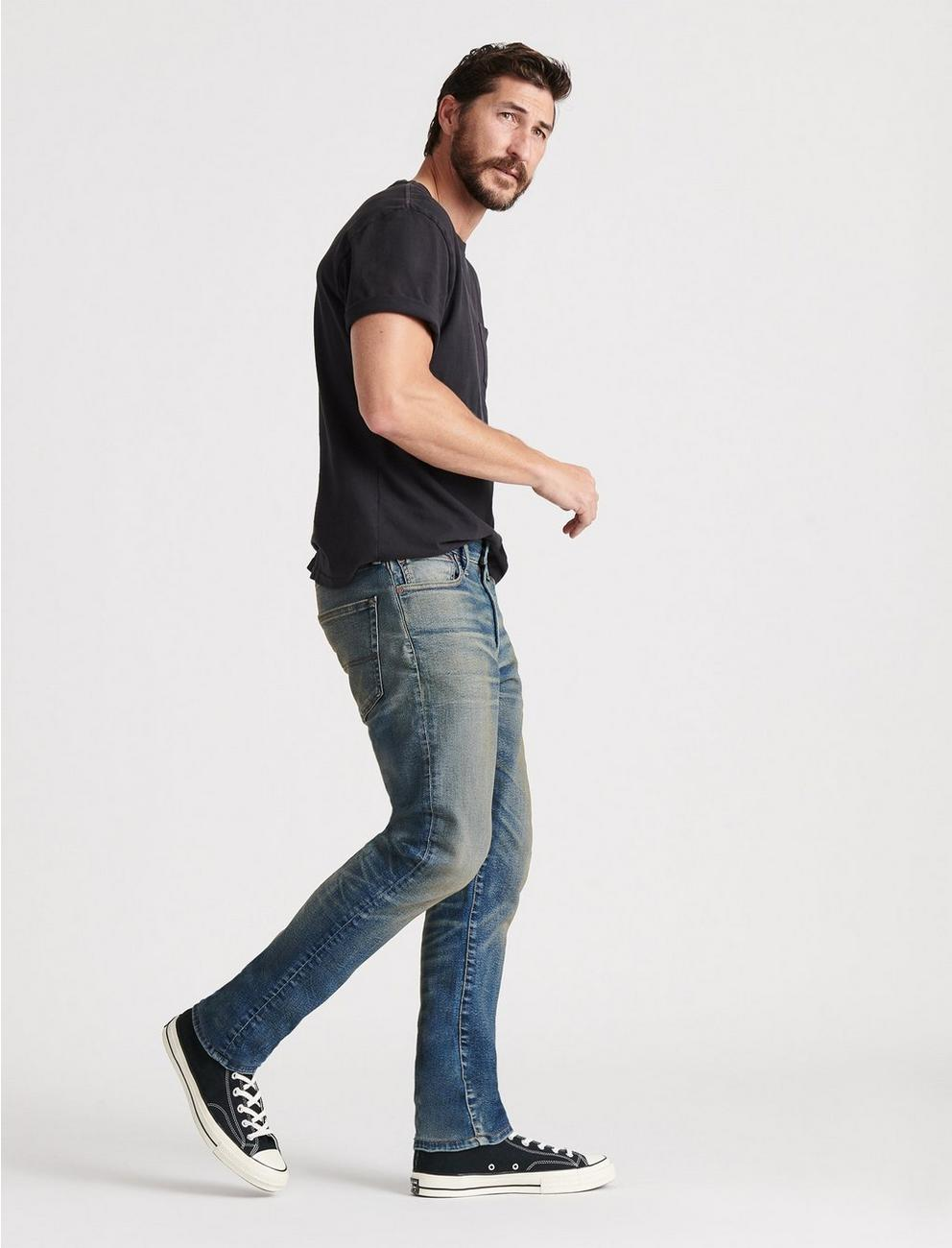410 ATHLETIC SLIM ADVANCED STRETCH JEAN, CEDAR
