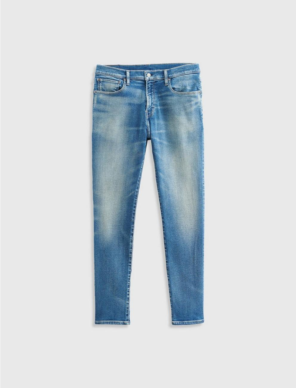 105 SLIM TAPER ADVANCED STRETCH JEAN, BIG OAK