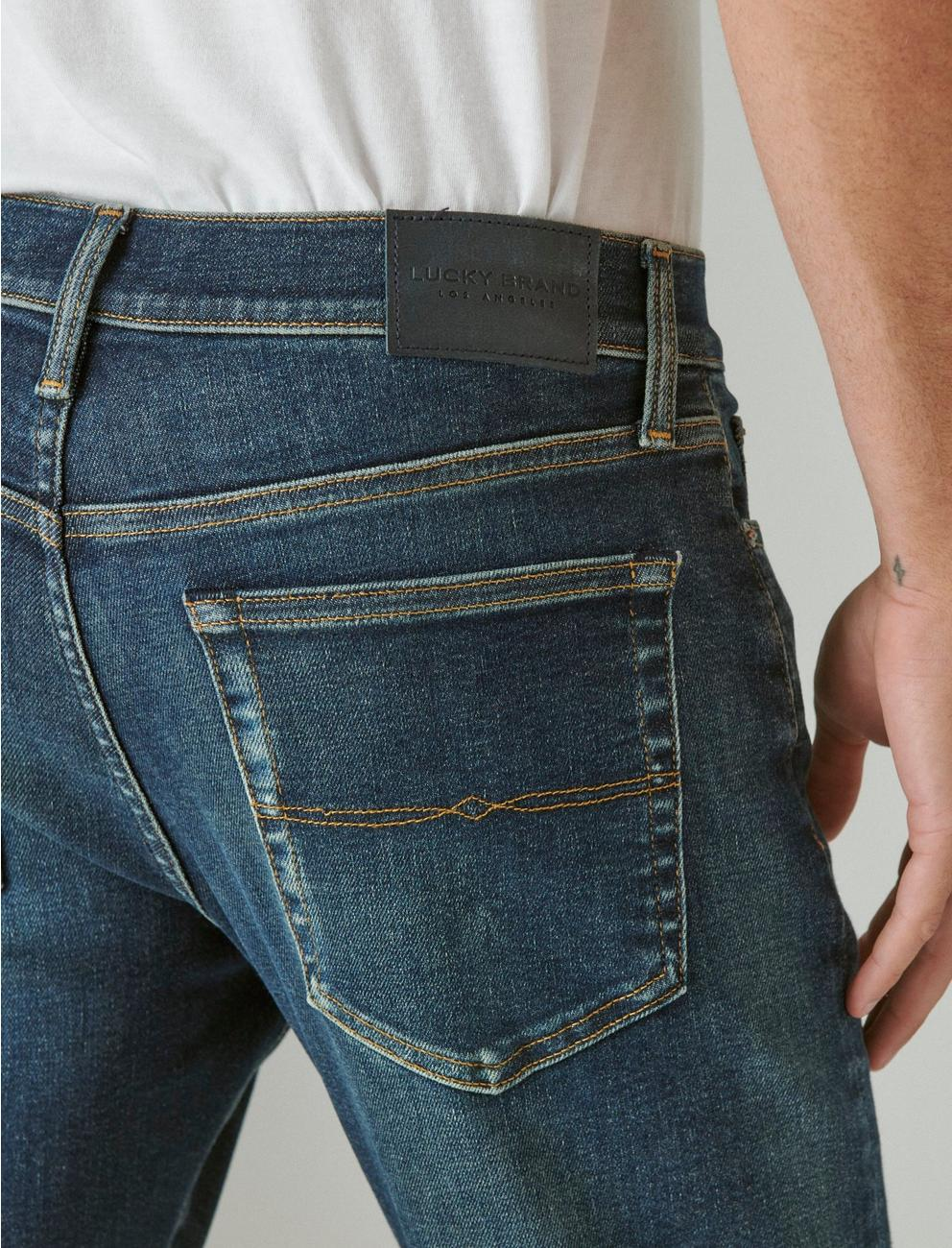 121 SLIM STRAIGHT ADVANCED STRETCH JEAN, FEDERAL