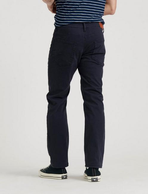 223 STRAIGHT SATEEN STRETCH JEAN, OXFORD BLUE