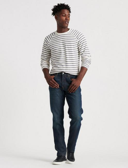121 SLIM STRAIGHT STRETCH JEAN, PERSHING
