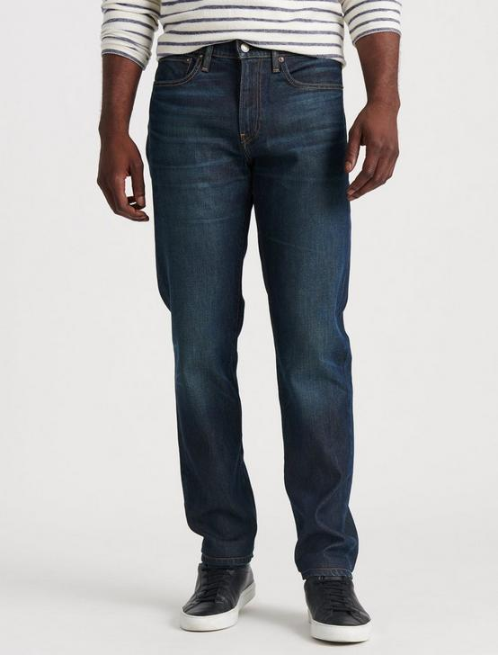 121 SLIM STRAIGHT STRETCH JEAN, PERSHING, productTileDesktop