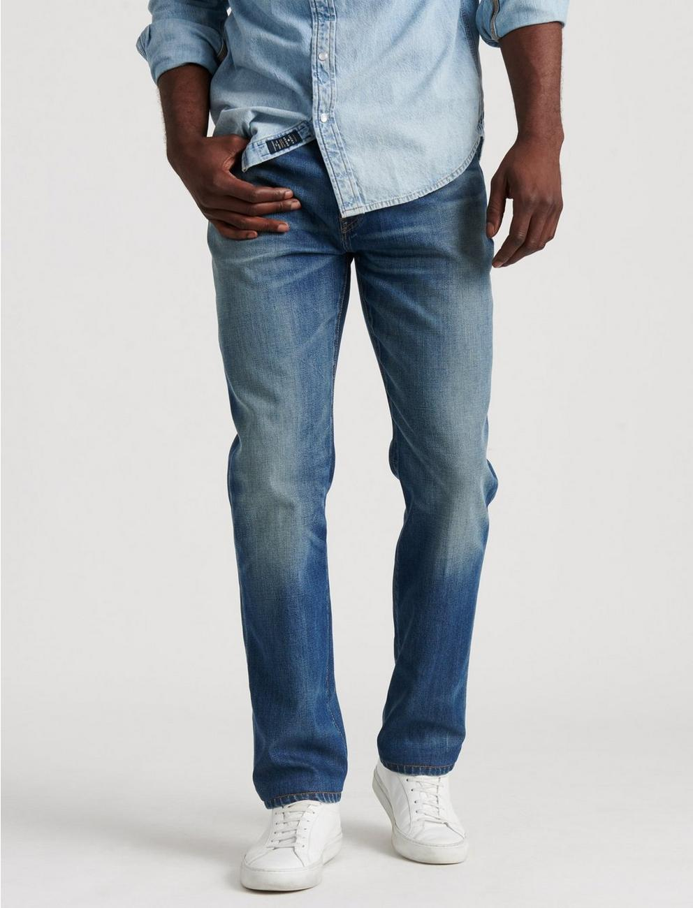 223 STRAIGHT STRETCH JEAN, KRONE