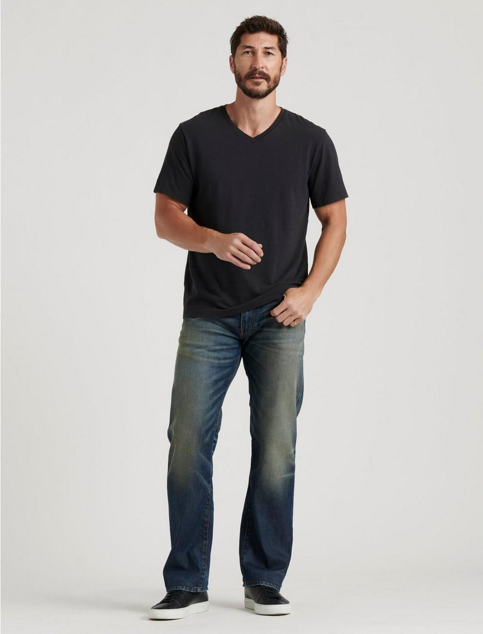 363 VINTAGE STRAIGHT STRETCH JEAN, SPRINGER