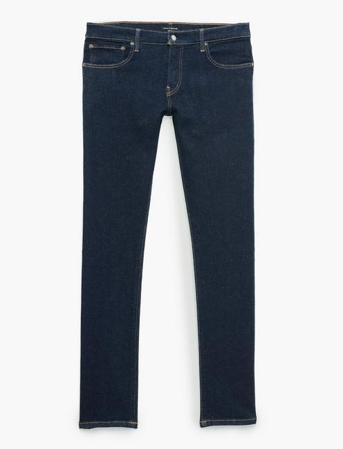 110 SLIM ADVANCED STRETCH JEAN, TEAKWOOD