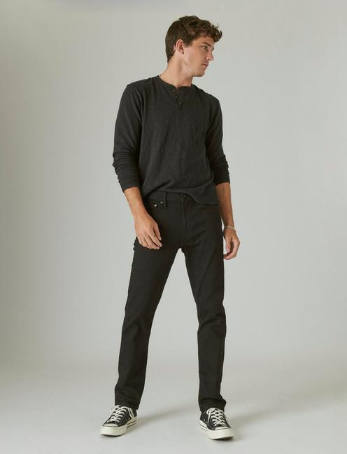 410 ATHLETIC SLIM ADVANCED STRETCH JEAN, BLACK RINSE