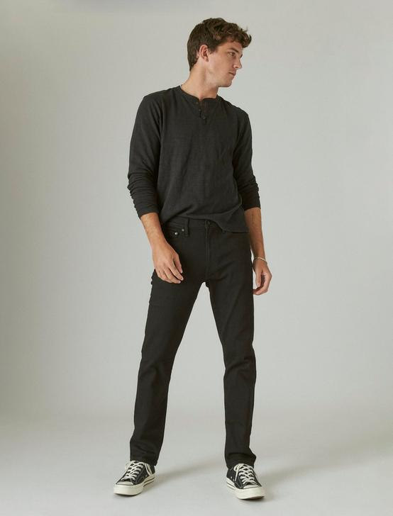 410 ATHLETIC SLIM ADVANCED STRETCH JEAN, BLACK RINSE, productTileDesktop