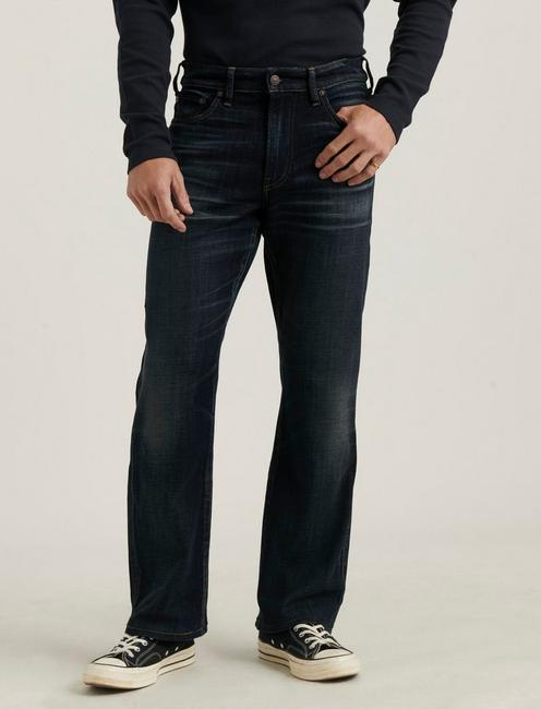 181 RELAXED STRAIGHT COOLMAX STRETCH JEAN, LEON PARK