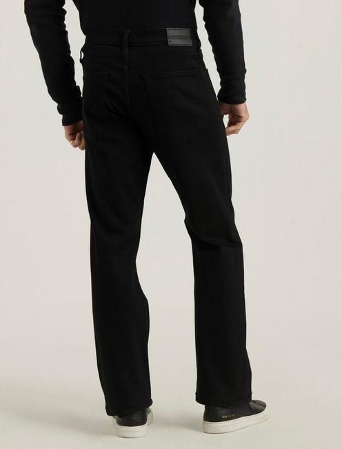 181 RELAXED STRAIGHT ADVANCED STRETCH JEAN, BLACK RINSE