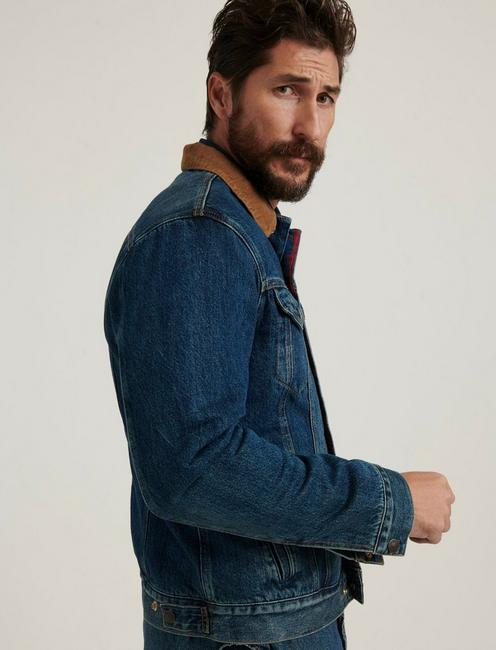THE TRUCKER JACKET, EMORY LINED