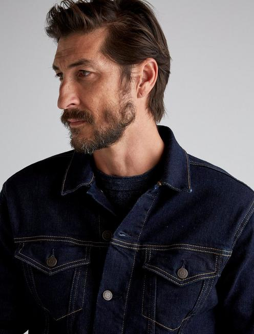 THE TRUCKER JACKET, CASHMERE RINSE