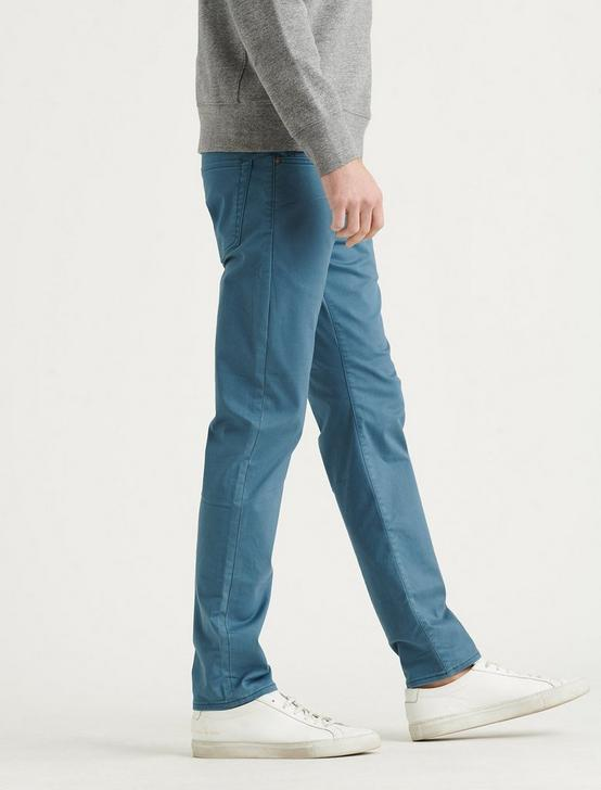 105 SLIM TAPER COOLMAX JEAN, INDIAN TEAL, productTileDesktop