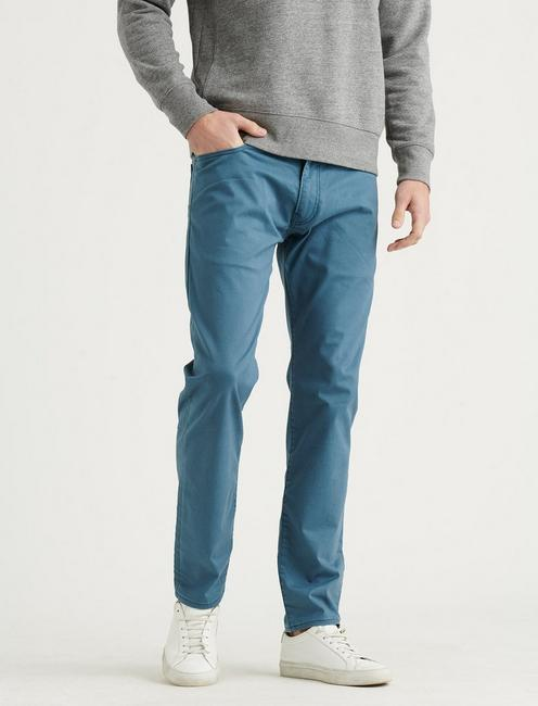 105 SLIM TAPER COOLMAX JEAN, INDIAN TEAL