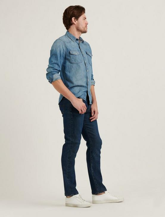 121 SLIM STRAIGHT STRETCH JEAN, SIGNAL HILL, productTileDesktop