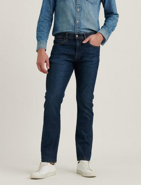 121 SLIM STRAIGHT STRETCH JEAN, SIGNAL HILL
