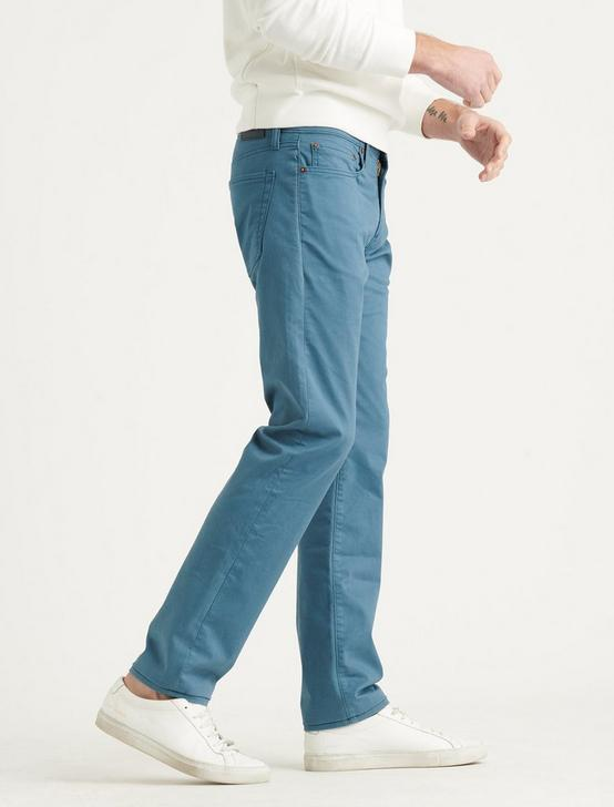 121 SLIM STRAIGHT COOLMAX JEAN, INDIAN TEAL, productTileDesktop