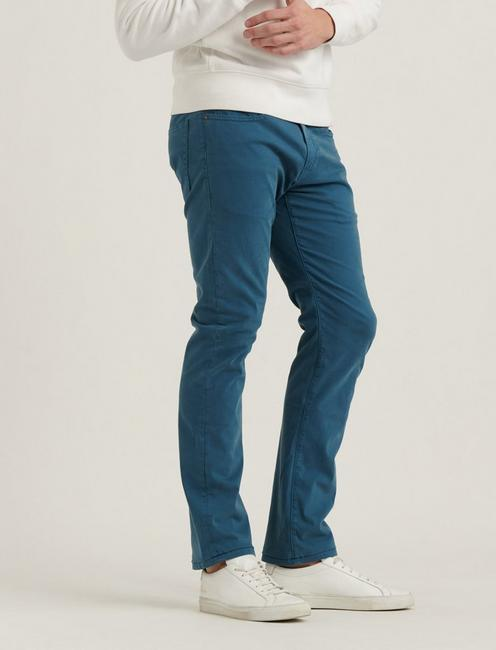 223 STRAIGHT SATEEN STRETCH JEAN, INDIAN TEAL