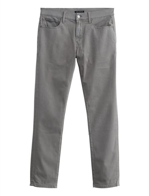 222 TAPER STRETCH JEAN, PEWTER
