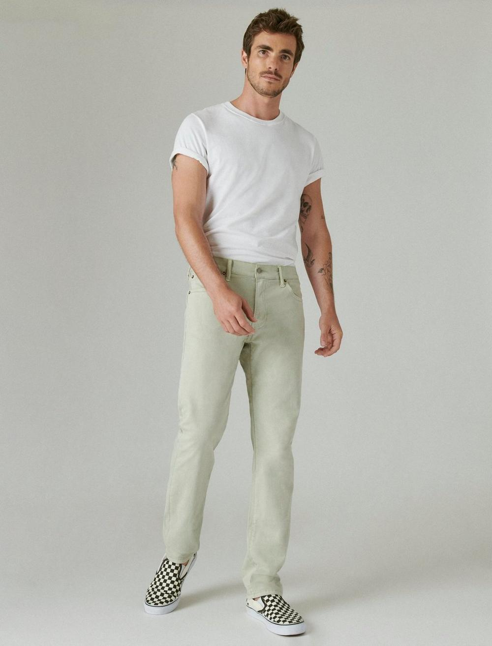 410 ATHLETIC STRAIGHT SATEEN STRETCH JEAN, image 1