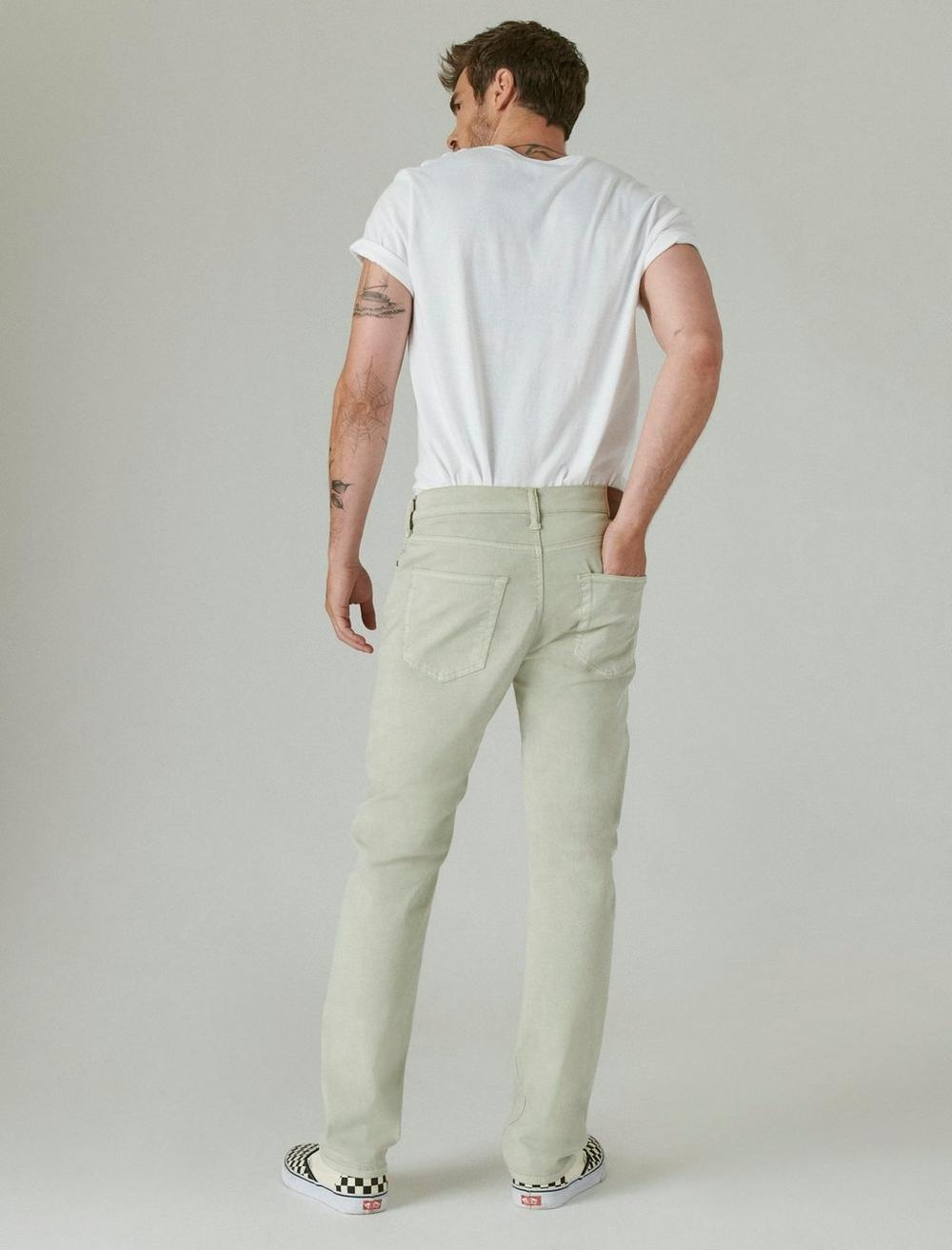 410 ATHLETIC STRAIGHT SATEEN STRETCH JEAN, image 3