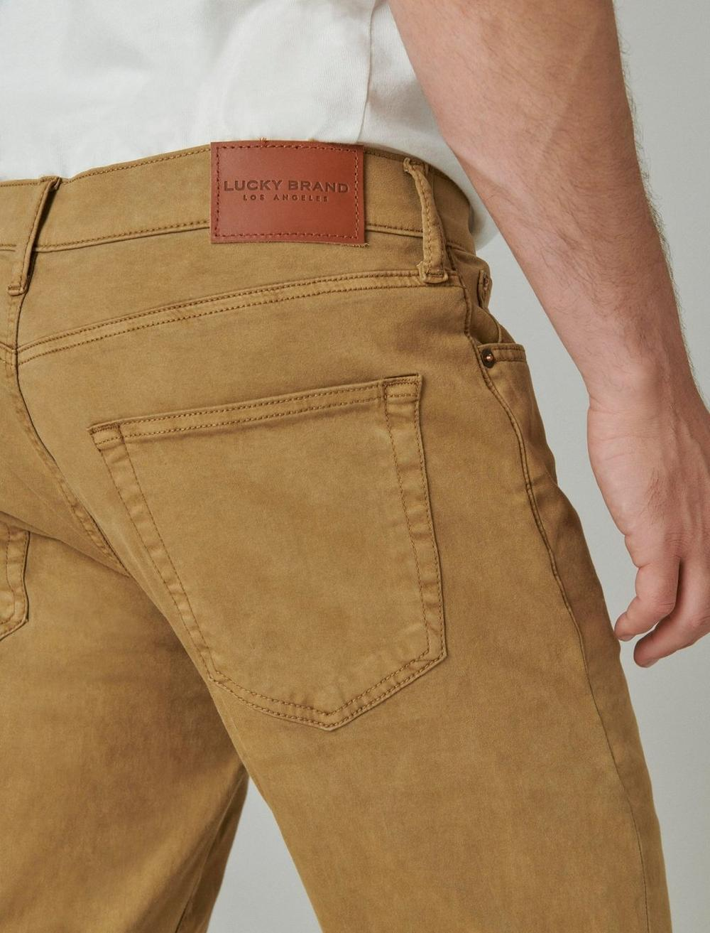 410 ATHLETIC STRAIGHT SATEEN STRETCH JEAN, image 6